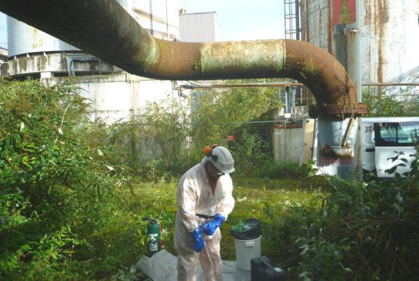 Diagnostic par CURIUM de produits dangereux sur site industriel avant démantèlement