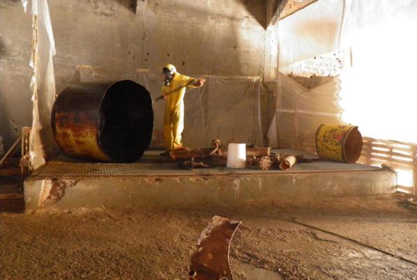 Démantèlement électrolyse à mercure par CURIUM en Tunisie