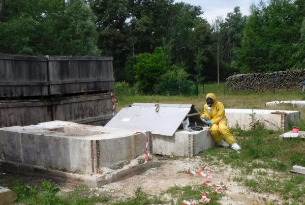 CURIUM reconditionne en urgence les déchets chimiques, pyrotechniques, radioactifs inconnus