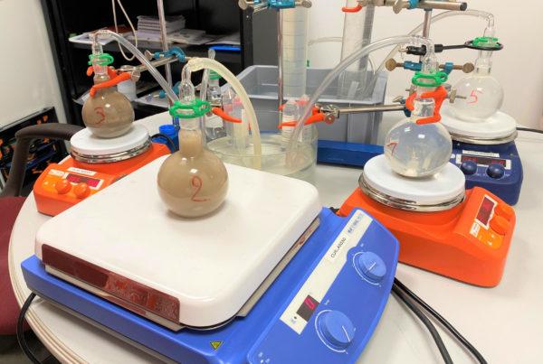CURIUM réalise des études techniques sur les flux de déchets dans son laboratoire d'essais pilotes