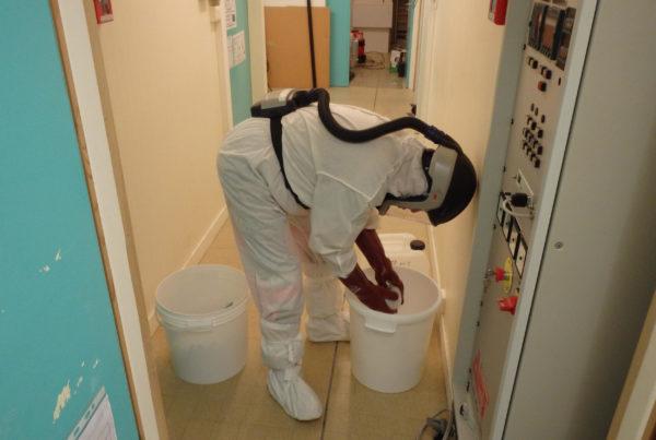 Décontamination d'un laboratoire de recherche contaminé au tellure et cadmium par CURIUM