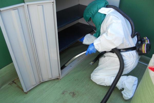 CURIUM décontamination arsenic et gestion déchets arséniés