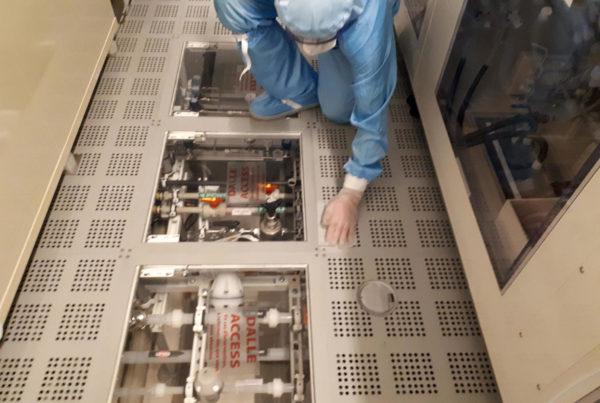 Décontamination arsenic, indium, gallium chez industriel microélectronique par CURIUM