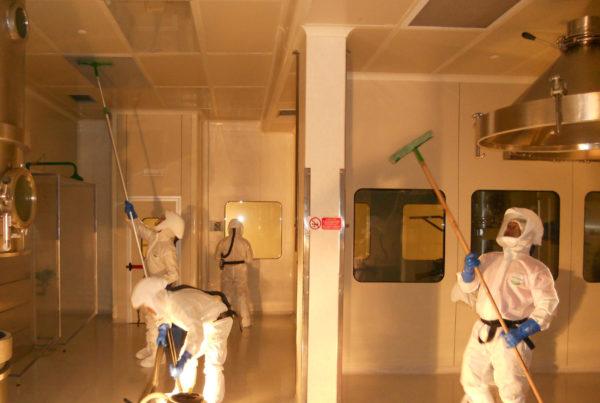 Assistance à la maîtrise d'ouvrage par CURIUM pour la décontamination d'un site de production pharmaceutique